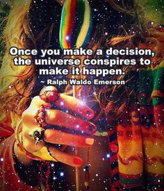 Good or bad, whatever you put out...the universe will manifest. It will become your reality. @Jackie Zocchi @Jackie Zocchi