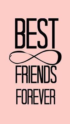 Bff Pictures, Best Friend Pictures, Best Friend Quotes, Best Friend Drawings, Bff Drawings, Cute Wallpapers Quotes, Wallpaper Quotes, Iphone Wallpaper, Best Friendship