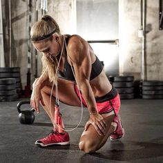 Girls Who Do Crossfit — crossfitters: Talayna Fortunato