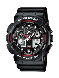 Casio Ga-100-1A4Er Mens G-Shock Combi Display Black Watch for only $94.75 You save: $35.20 (27%)