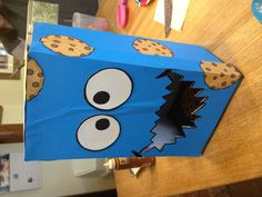Cookie Monster valentines day box! :)