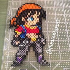 Dragon ball, hama beads, pan