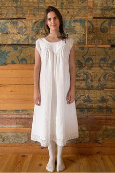 Vecpiebalgas Treasure - Linen Nightdress/linen nighty/linen nightgown