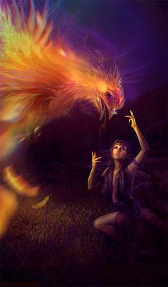 F.K. Phoenix's kiss 2012 by *Ilona-Nelapsi