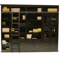 I have to have this in my bungalow! Cabana Library element Display Cabinet - KARE Design