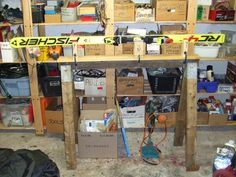 Tuning stand overall view... another diy ski vice