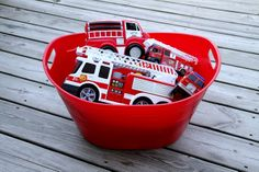 Getting it Together: Fire Engine Birthday Party! (part 2)
