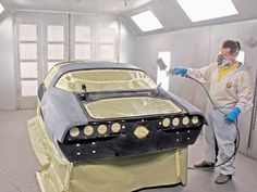 How to Create a Paint Booth in Your Garage #stepbystep