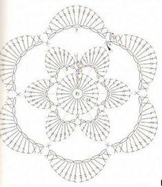 Estamos en pleno otoño y en esta época tenemos días con fresco , viento ( sobre todo en mi ciudad ! ) , humedad, frío, lluvia y algún que ... Crochet Squares, Crochet Granny, Irish Crochet, Crochet Motif, Hexagon Crochet, Crochet Leaves, Crochet Flowers, Crochet Stitches Patterns, Stitch Patterns
