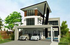 AdvanceHome (Grace-01)  ลักษณะของบ้าน : บ้าน 3 ชั้น สไตล์ Modern Contemporary จุดเด่นของบ้าน : รูปลักษณ์โดดเด่น ดูมีเสน่ห์แต่ทันสมัย พื้นที่ใช้สอยภายในเปิดมุมมองสู่สระว่ายน้ำ โดยมีเฉลียงระเบียง เป็นตัวเชื่อมนำสู่สายตาและยังเหมาะกับการนั่งเล่นภายนอก ประตู - หน้าต่าง เน้นรูปแบบให้มีขนาดใหญ่ และกว้างกว่าปกติ ทำให้ทุกห้องสัมผัสกับบรรยากาศภายนอกได้ดี ชั้นบนจัดพื้นที่อย่างต่อเนื่องเป็นสัดส่วน   #homeplan #homebuilder #modern #modernhome #advancehome #design