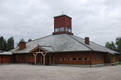 Karasjok church, built in 1974, Norway