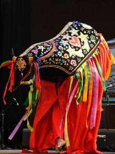 Boi Bumbá | Brasil Brazil Colors, Arte Popular, Photo Reference, Online Gallery, World Cultures, My People, Vera Bradley Backpack, Folklore, Costume Design