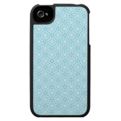 Trendcolors Blue Atoll iPhone 4 Case