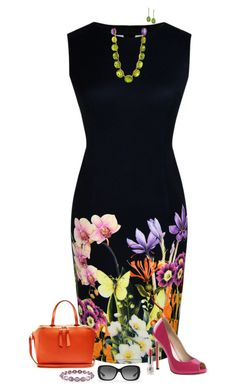 Floral delight by julietajj on Polyvore featuring polyvore fashion style WithChic Pleaser Loewe Judy Geib Piranesi Kabella Jewelry Ralph Lauren CARGO clothing