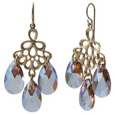 Shimmer Chandelier Earrings   Fusion Beads Inspiration Gallery