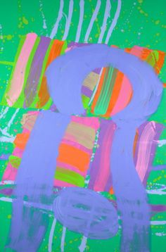 Albert Irvin, Trophy, acrylic on canvas, 2012 Contextual artist research, collaborating- linking