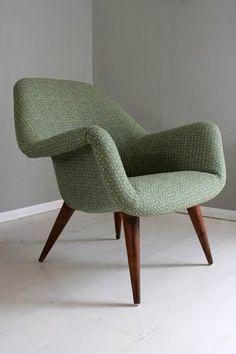 Mid 20th century Danish armchair.