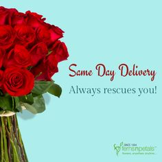 Relax! We have same day delivery! http://www.fnp.ae/ #fernsnpetalsUAE #samedaydelivery #service