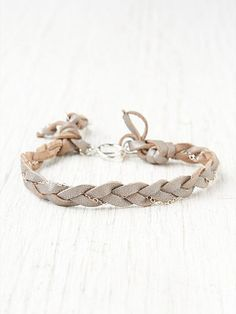 Slate Braided Bracelet  http://www.freepeople.com/whats-new/slate-braided-bracelet/