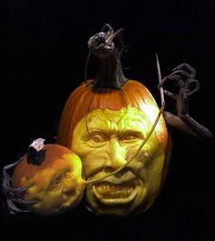 ☆ Pumpkin Carving :¦: By Artist Ray Villafane ☆