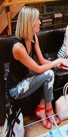 Jeans, Black, Splash of Color. My new fashion icon - Kristen Taekman