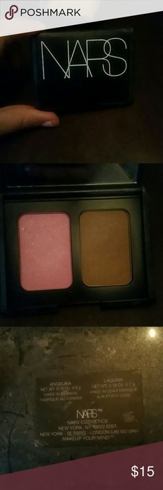 Nars blush and bronzer Authentic nars blush in  angelika and bronzer in laguna.. Lightly used NARS Makeup Bronzer