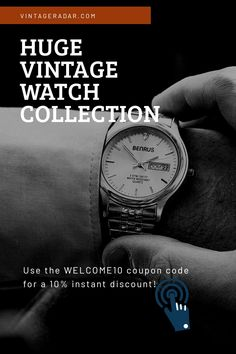 Vintage Watches For Sale, Watches For Men, Antiques Online, Timeless Beauty, Watch Sale, Watch Brands, Seiko, Vintage Antiques, Swatch