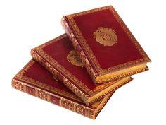 Exclusive Bindings with Napoleon's Coat of Arm - Boileau : Oeuvres Complètes, Paris, Imprimerie de Belin (d'Heran) 1813, 3 Volumes.