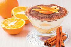 Tiramisu cremoso al profumo di arancia