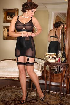 Lolita OB Girdle by SIL available in black and pink, up to 3XL