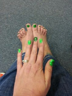 St. Patties Nails & Toes