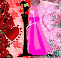 Nergal And Princess Bubblegum Best Love For Holding Hands