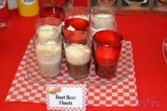 root beer floats...