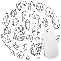 Gems Collection Mouse Pad Decal