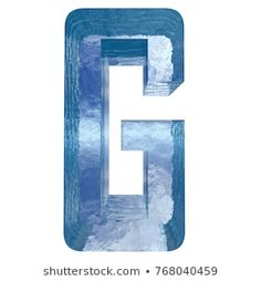 Conceptual blue light cold frosted water or ice winter season font isolated on white snow background. Cool crystal decorative character cut of frozen liquid, transpaernt illustration concept Winter Season, Alphabet, Fonts, Frozen, Snow, Concept, Cold, Seasons, Crystals
