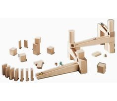 Klinkekuler til kulebane - HABA Cubes, Giraffe, Triangle, Marble, Toys, Track, Christmas, Products, Playground Slide