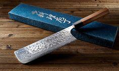 The beautiful Megumi nakiri knife.