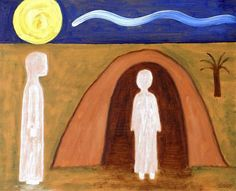 The Raising of Lazarus by Patrick J Murphy   @ArtWanted.com #art