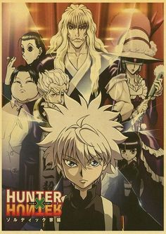 Hunter x Hunter Retro Posters - 42X30 CM / E170 10