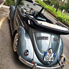 volkswagen classic cars h Beetles Volkswagen, Volkswagen Bus, Vw Camper, Cabrio Vw, Vw Cabriolet, Volkswagen Convertible, Van Vw, Kdf Wagen, Automobile