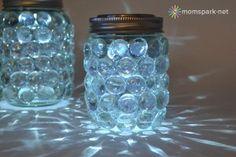 DIY: Easy Mason Jar Luminaries