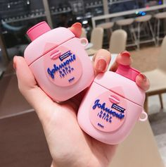 Johnson's Baby Lotion Airpods Case Body Lotion airpods case Bottle airpods case Funny Airpod Case f Cute Cases, Cute Phone Cases, Iphone Phone Cases, Phone Covers, Bluetooth, Wireless Headset, Aesthetic Phone Case, Accessoires Iphone, Earphone Case
