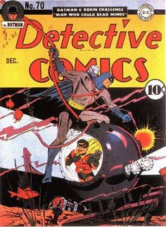 DETECTIVE COMICS #70. DC, 1937 Series. Source: http://www.comics.org/issue/2594/