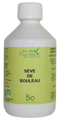 La sève de bouleau bio, détoxifie l'organisme Bouteille de 300 ml