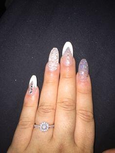my wedding nails #amazing