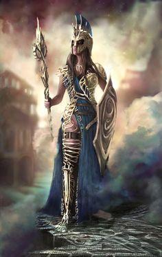 ArtStation - Athena, Tiana Maros: