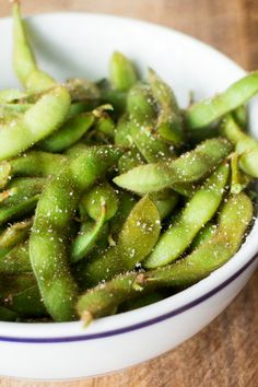 Easy Salted Edamame Recipe, just like your favorite Japanese restaurant!