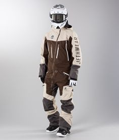 "Jethwear ""Freedom Suit "" Overall Motorcycle Jacket, Bomber Jacket, Snowboarding Outfit, Ski Gear, Winter Gear, Black Men, Skiing, Suits, Freedom"