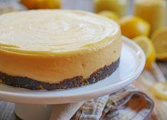 2-ingredient Cheesecake   My Heart Beets Lemon Cheesecake, Cheesecake Recipes, Nut Crust Recipe, Heart Beet, Pecan Nuts, Gluten Free Cooking, 2 Ingredients, Cake Pans, Melting Chocolate