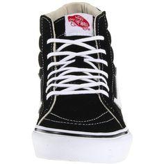 Vans SK8-Hi Slim (175 BRL) ❤ liked on Polyvore featuring shoes, sneakers, vans, vans footwear, vans sneakers, vans shoes, vans trainers and slim shoes